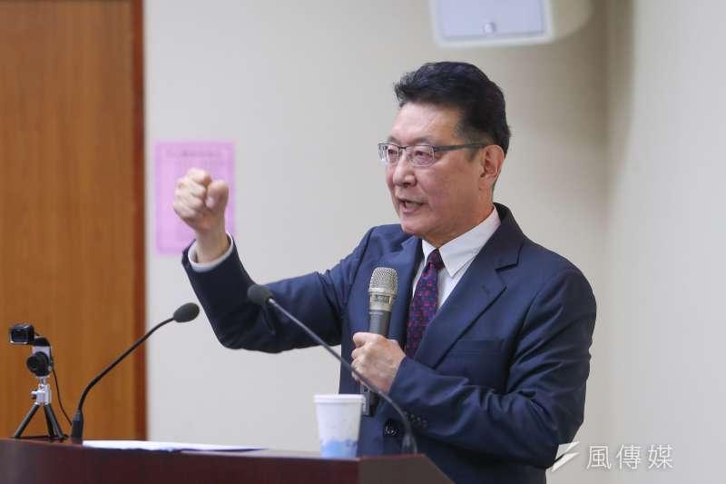 台北市好心肝診所爆出私打疫苗,被點名在名單內的中廣董事長趙少康表示絕對沒有。(資料照,顏麟宇攝)