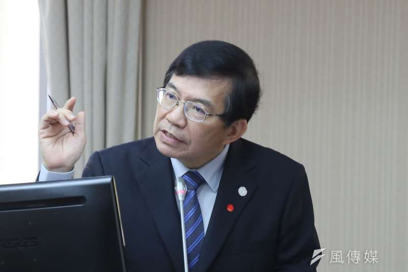 20210428-交通部長王國材28日出席立法院交通委員會。(柯承惠攝)
