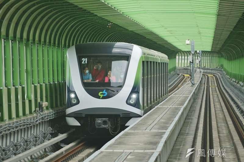 有網友認為,中捷綠線比較適合當藍線後的第二條捷運路線,而當初擋掉藍線的人正是前總統馬英九及其執政團隊。(資料照,盧逸峰攝)