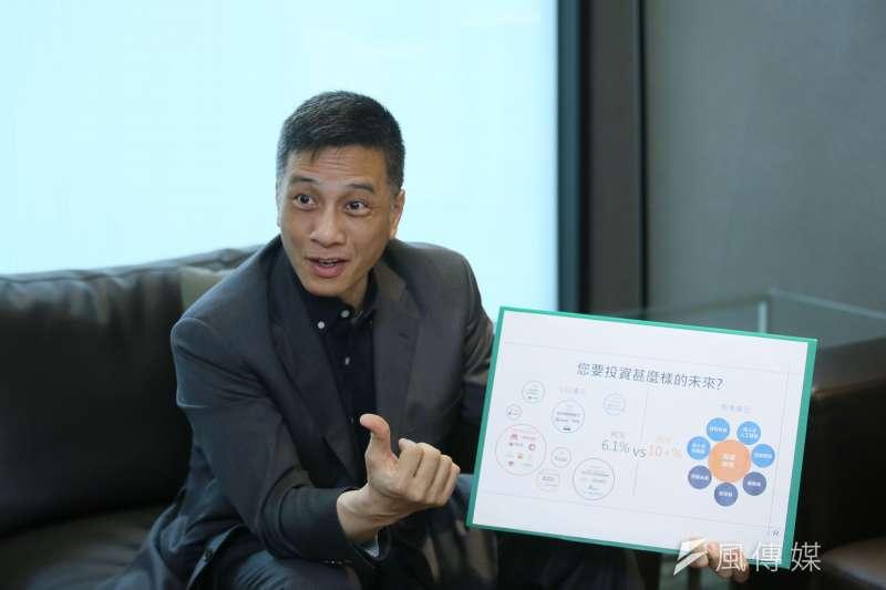專訪東元前常務董事、菱光科技董事長黃育仁。(柯承惠攝)