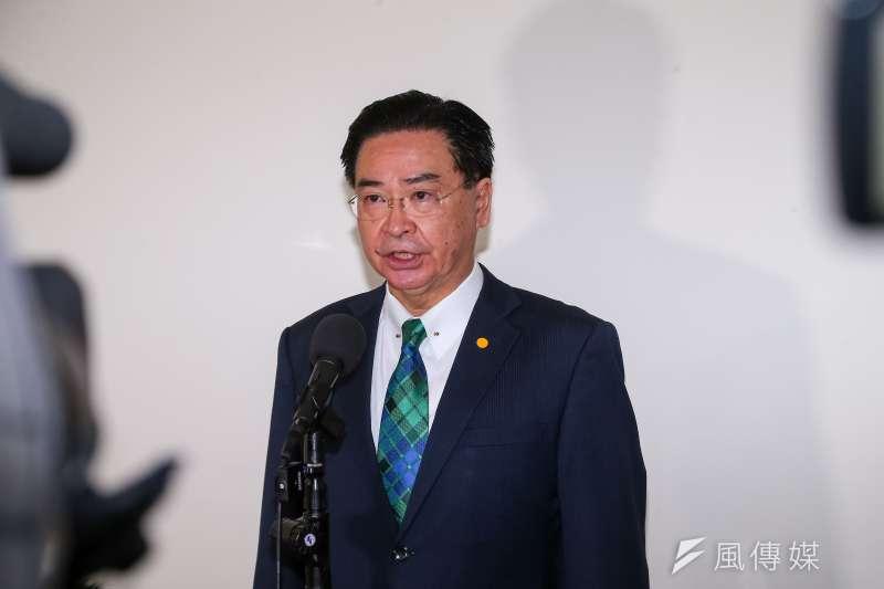 外交部長吳釗燮日前接受澳洲媒體《澳洲金融評論報》專訪,並談及中國威脅。(資料照,顏麟宇攝)