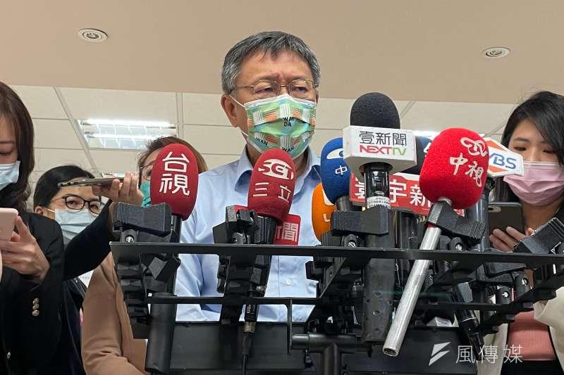 台北市長柯文哲(見圖)認為,要求在豬隻屠宰前3天停餵含萊劑飼料,可有效降低肉品內藥物濃度,台灣作為消費者有權這樣要求,但此案在立院卻要一直被杯葛。(資料照,方炳超攝)