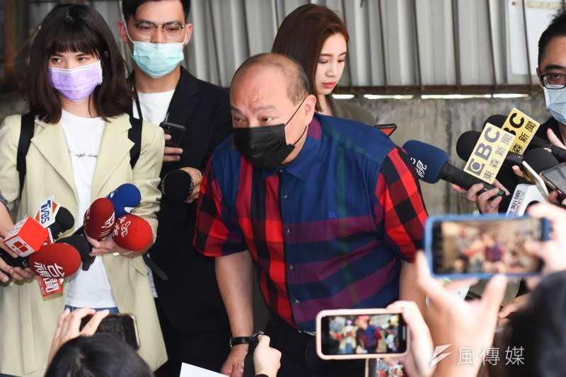 20210430-民進黨台北市黨部評委召集人趙映光30日接受媒體聯訪。(顏麟宇攝)
