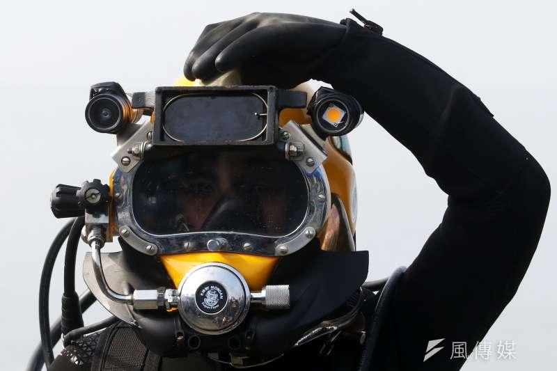 20210430-水下作業大隊隸屬海軍192艦隊,是以執行水中障礙物(爆裂物)排除、水下救難等任務為主。(蘇仲泓攝)