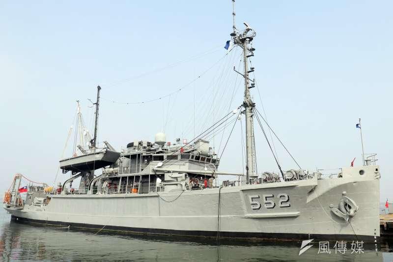20210430-儘管在海軍國艦國造計畫中,有打造新型艦難艦的規劃(代號「安海」),唯尚須時日才能實現,因此海軍現役高齡近80歲的大湖級救難艦只能繼續苦撐。(蘇仲泓攝)