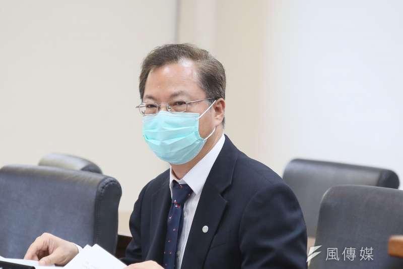 20210503-國發會主委龔明鑫3日出席立院經濟委員會。(柯承惠攝)