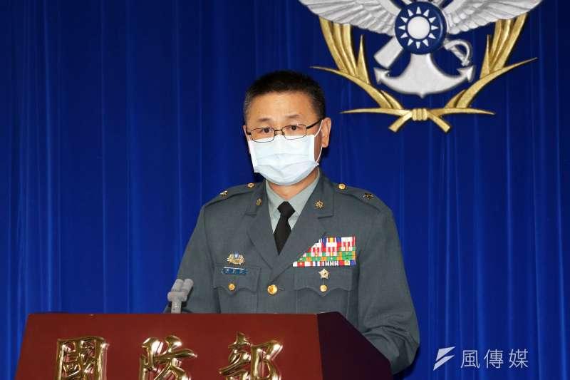 20210504-陸軍司令部工兵處長陳威霖少將。(蘇仲泓攝)