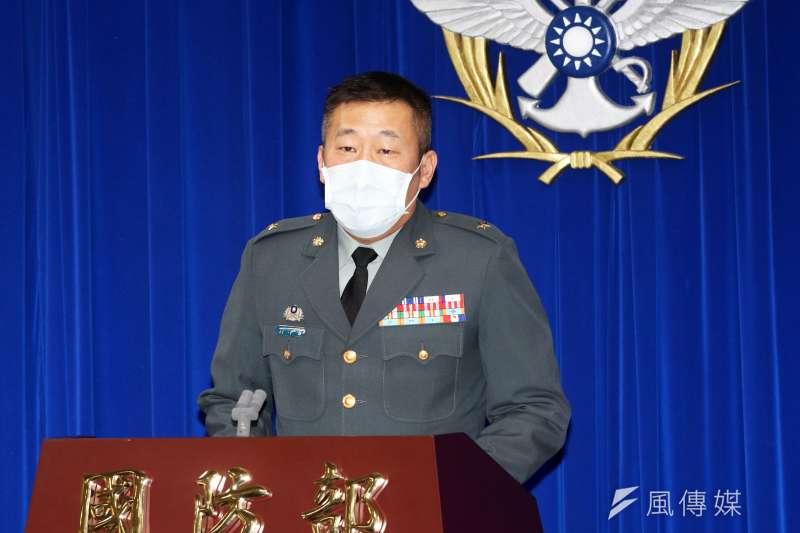 20210504-第五作戰區副指揮官劉沛智少將。(蘇仲泓攝)
