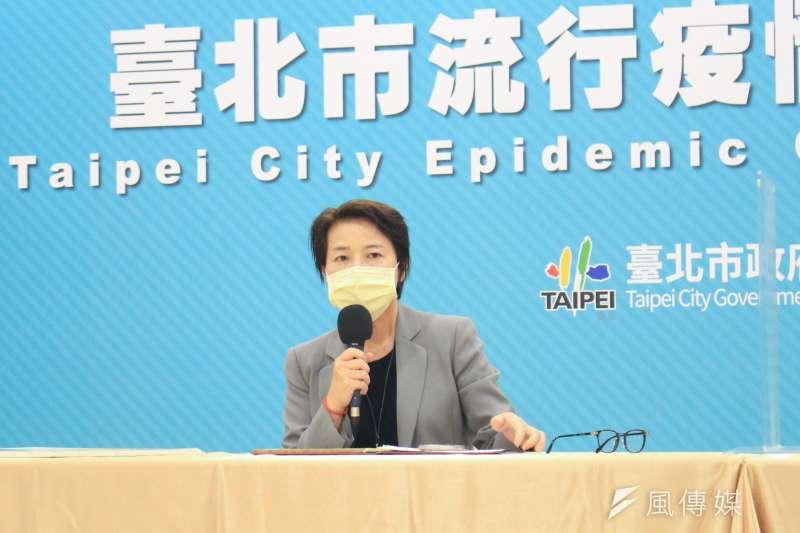 台北市副市長黃珊珊(見圖)指出,台北市娃娃機店、釣蝦場、桌遊店、附設AR、VR或卡拉OK的餐飲業都要停業。(資料照,方炳超攝)