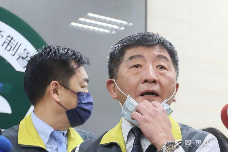 指揮官陳時中在記者會上的部分言行,卻讓不少網友看傻眼,直呼「你累了嗎」。(資料照,柯承惠攝)