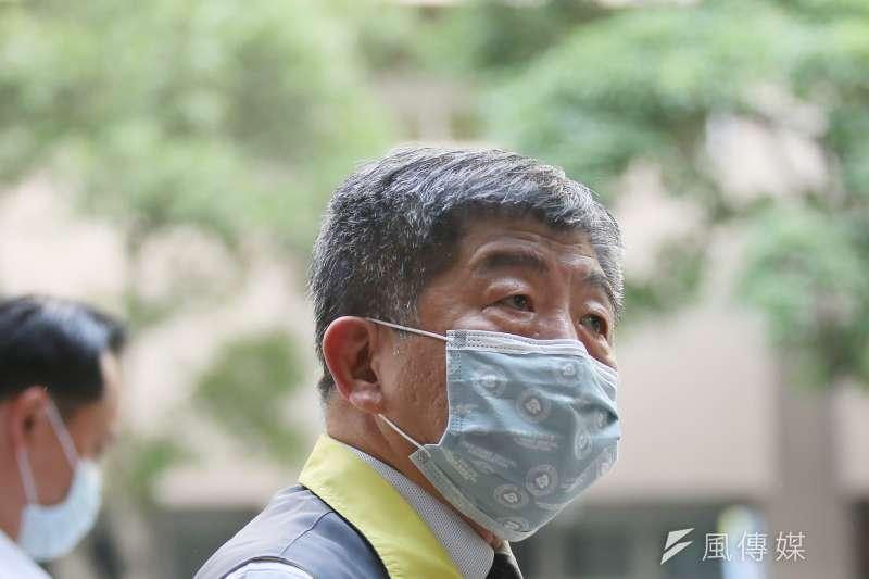 1國內爆發2起社區感染,疫情指揮中心指揮官陳時中對此表示,已正式進入「社區感染」階段。(資料照,柯承惠攝)