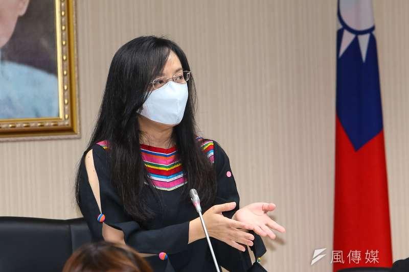 20210506-民進黨立委陳瑩6日主持衛環委員會。(顏麟宇攝)