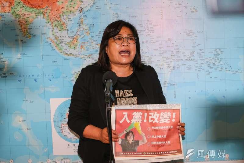 20210506-民進黨立委王美惠6日接受媒體聯訪。(顏麟宇攝)
