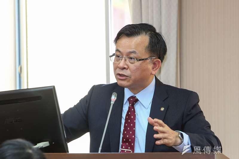 20210506-NCC主委陳耀祥6日於交通委員會備詢。(顏麟宇攝)