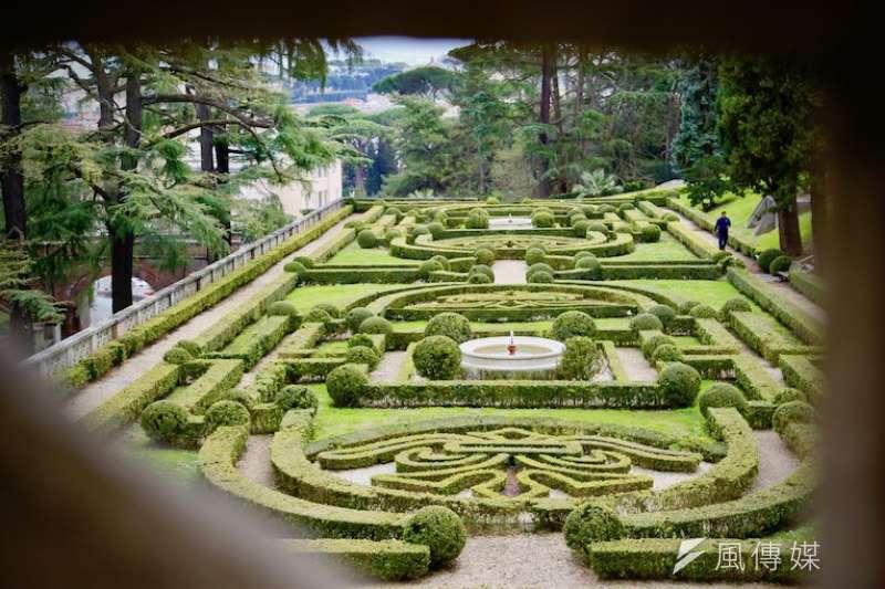 義大利文藝復興時期的景觀花園(曾廣儀攝)