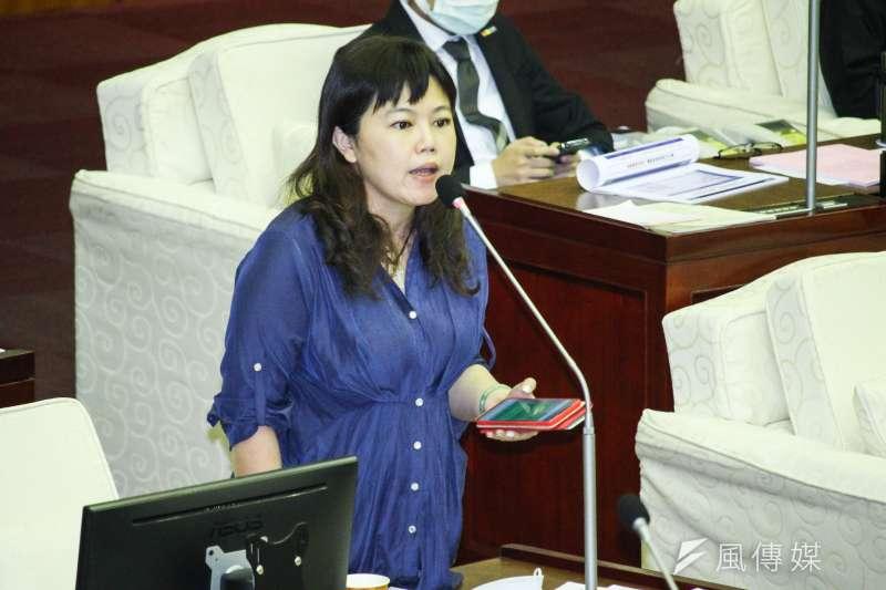 國民黨籍台北市議員游淑慧10日稱讚衛福部,指出入境普篩是「一個對的改變」。(資料照,蔡親傑攝)