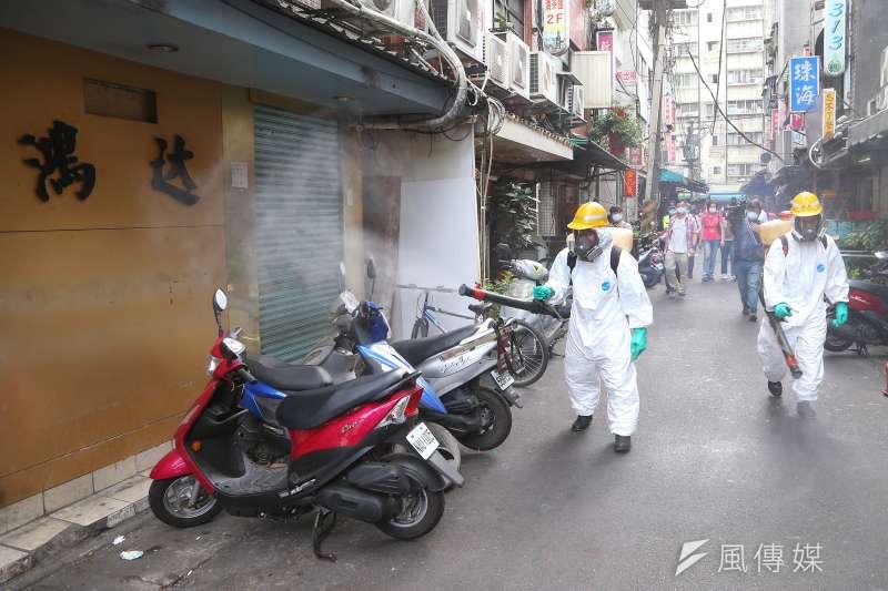 醫師沈政男指出,此波疫情的源頭應為萬華茶藝館群聚,至此為止只是隱形傳播鏈現形,並不是疫情蔓延。(資料照,顏麟宇攝)