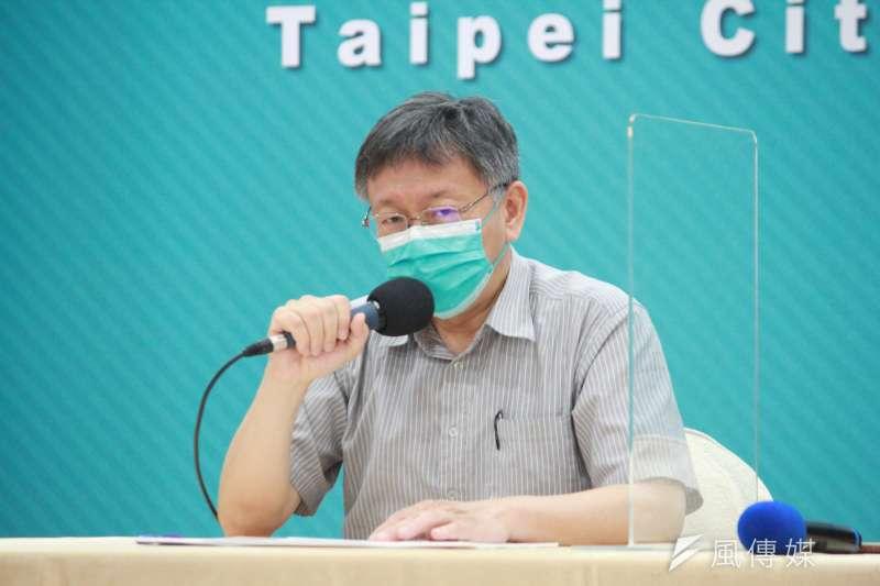 台北市長柯文哲14日宣布,明日起台北市公有場館及10大類場所,包含8大行業等全數停業。(資料照,方炳超攝)