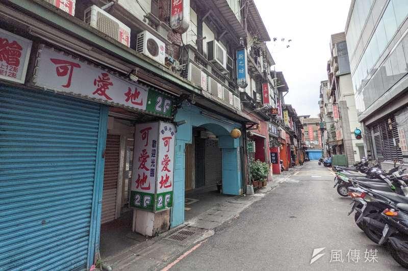 本土疫情再起,萬華茶藝館群聚感染案擴大中。(資料照,顏麟宇攝)