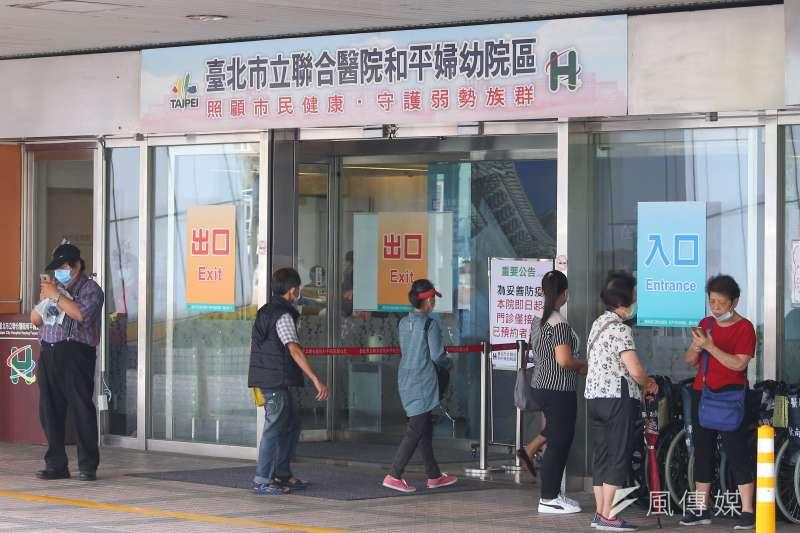 中央流行疫情指揮中心證實,和平醫院名男性確診者曾至萬華及宜蘭遊藝場,在兩地都有相關接觸。示意圖,非關新聞個案。(顏麟宇攝)