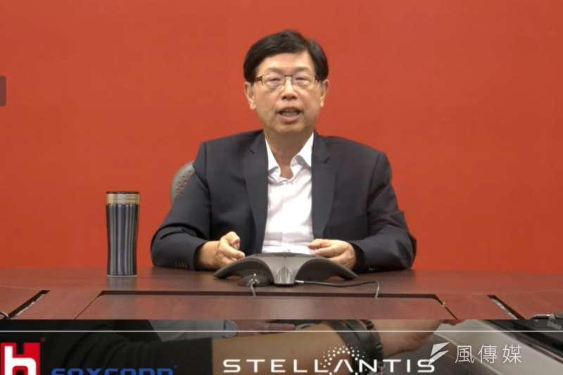 鴻海攻EV再下一城 與全球第四大車廠Stellantis結盟,鴻海董事長劉揚偉