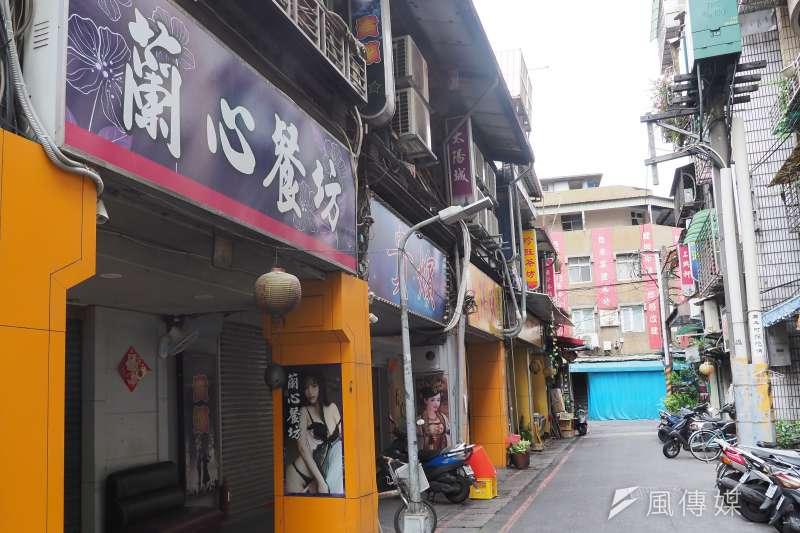 20210525-萬華茶室街。(柯承惠攝)