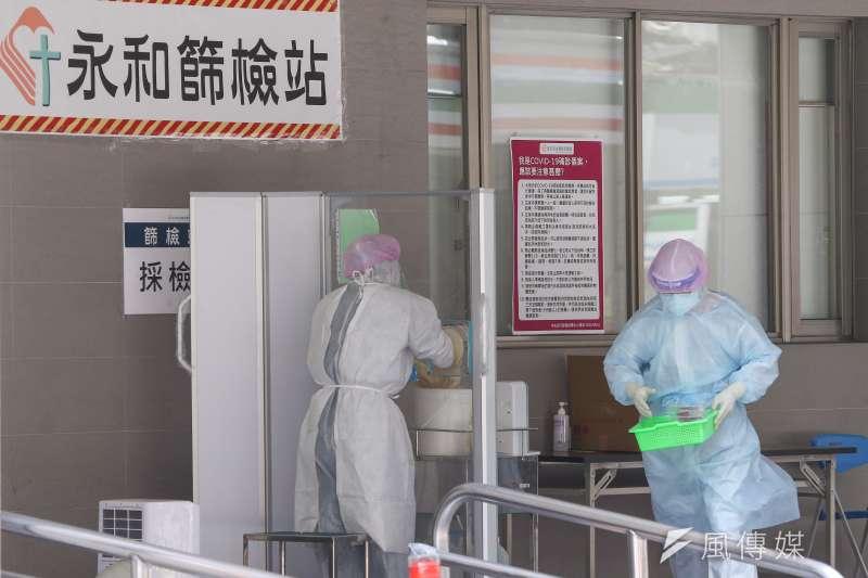 本土疫情升溫,醫療量能備受考驗。示意圖,非關新聞個案。(資料照,顏麟宇攝)