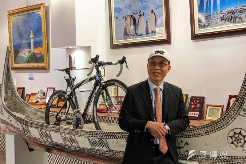 大田精密工業董事長李孔文是將大田推向國際的重要推手。(圖/王宣喬)