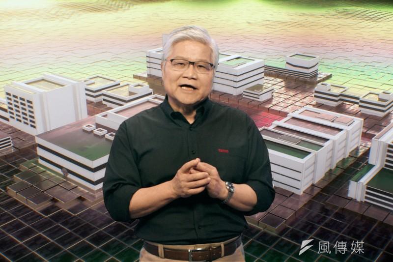 台積電2021年線上技術論壇,總裁魏哲家。(圖/台積電提供)