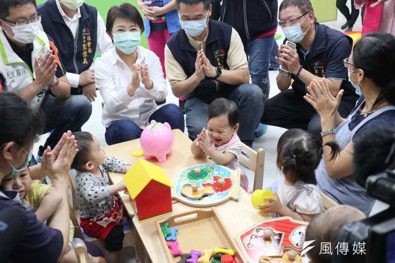 台中市政府推公托倍增,積極進行佈點,從沒有設置公托的行政區或市嬰幼兒數超過千人以上的行政區優先設置。(圖/王秀禾)