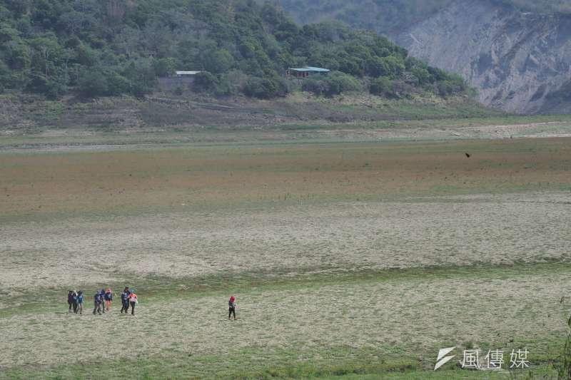 梅雨鋒面為台灣帶來雨量,不過台灣最大的曾文水庫蓄水量仍僅有約20%。(資料照,柯承惠攝)