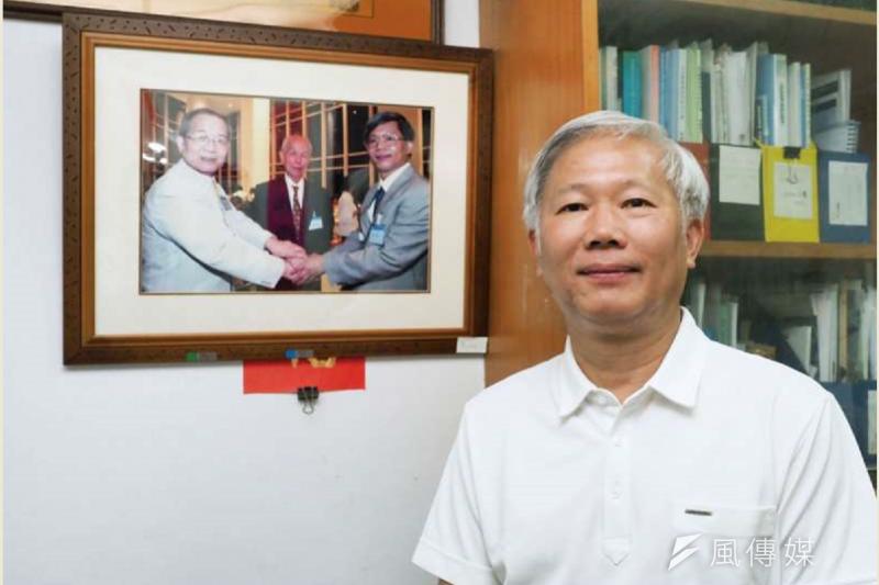 點名嗆總統蔡英文的中研院士陳培哲(見圖),學經歷背景相當豐富,更曾獲得多項學術榮譽。(資料照,林瑞慶攝影)