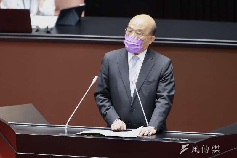 5月11號台灣本土疫情發生變化,雙北地區爆發多起不明社區感染個案,蘇貞昌要「大家該收心了」。(資料照,台北市攝影記者聯誼會提供)