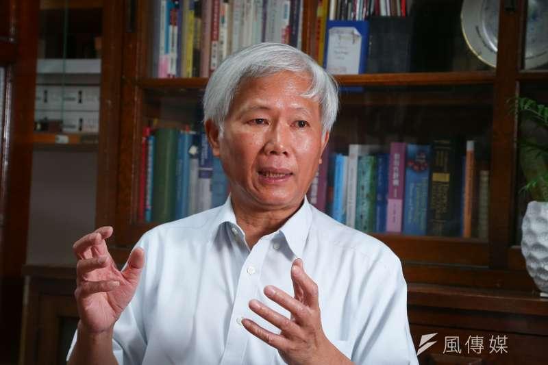 20210609-中研院院士陳培哲專訪。(顏麟宇攝)