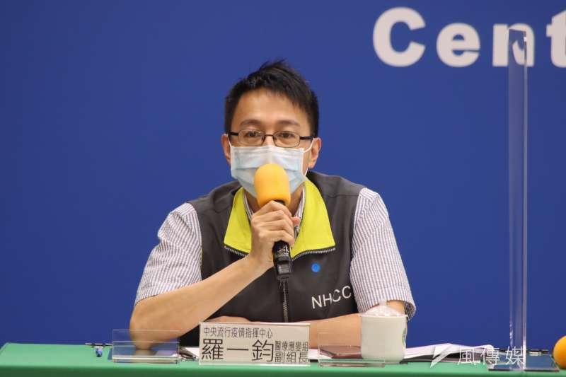 亞東醫院「台姐團隊」收治全國11%重症 羅一鈞發文跪謝。(資料照,指揮中心提供)