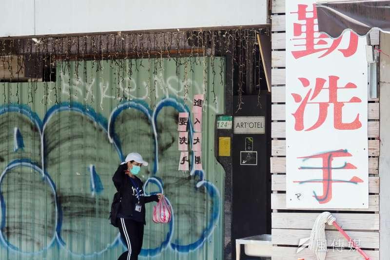 20210610-台灣新冠肺炎三級警戒,民眾減少外出。(柯承惠攝)