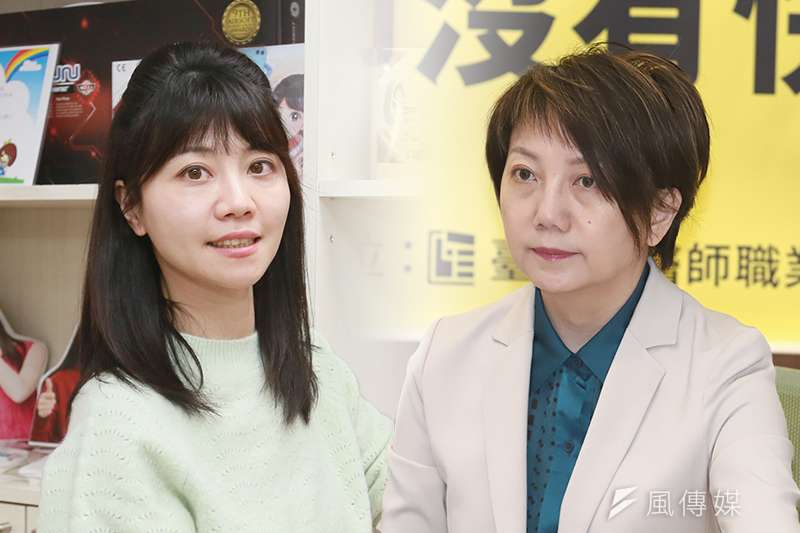 民進黨立委高嘉瑜(柯承惠攝)和范雲(陳品佑攝)近來都捲入關說爭議。