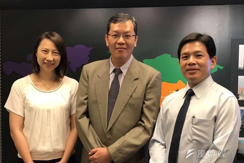 研華三位總經理,蔡淑妍(左起)、陳清熙、張家豪。 (圖/研華提供)