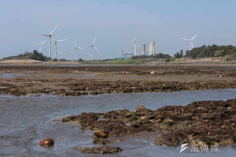 20210619-風力發電,風機,桃園觀新藻礁保護區。(顏麟宇攝)
