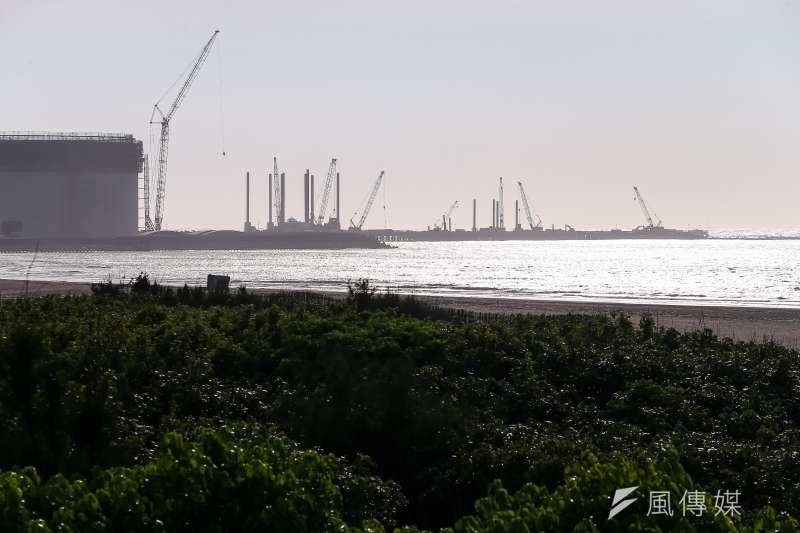 20210619-三接,第三天然氣接收站,大潭藻礁,大潭電廠。(顏麟宇攝)