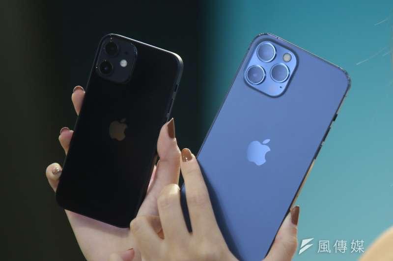 蘋果手機在美國華府被國際人權倡議(International Rights Advocate)提告。(資料照,柯承惠攝)