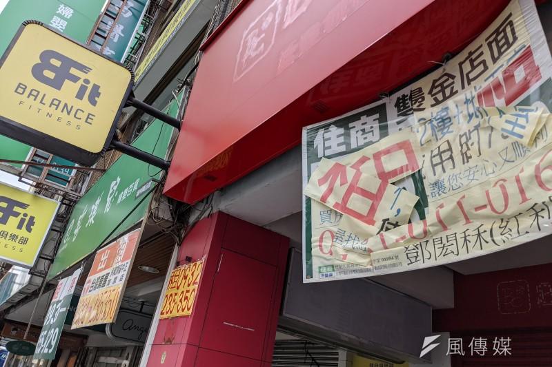三級警戒已讓商店街逐漸出現店面倒閉情形,亟需紓困振興方案幫忙。(資料照,顏麟宇攝)