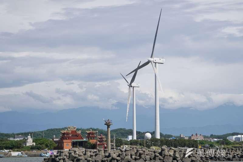 為了達成2025非核家園目標,蔡政府積極建設風電設施。(資料照,盧逸峰攝)