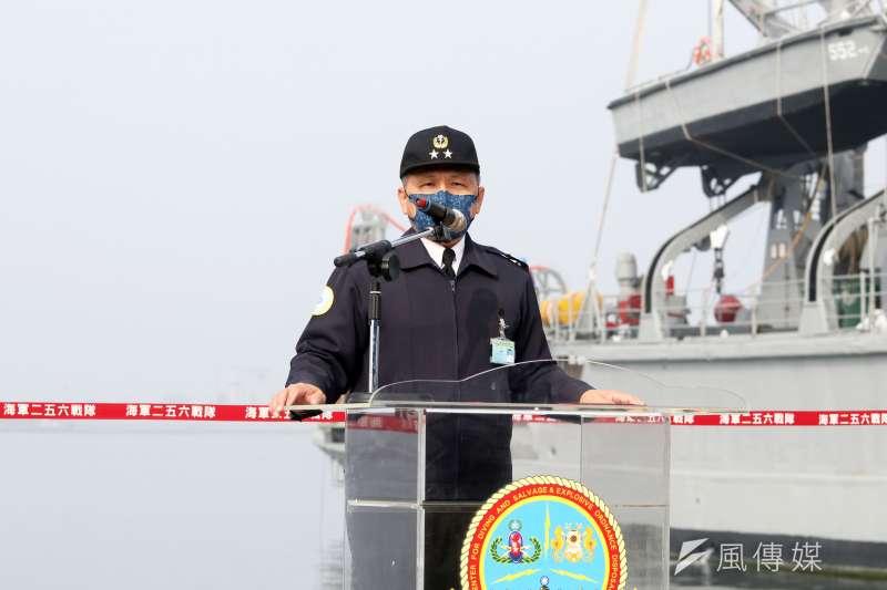 艦隊指揮部指揮官高嘉濱中將確定報退。(資料照,蘇仲泓攝)