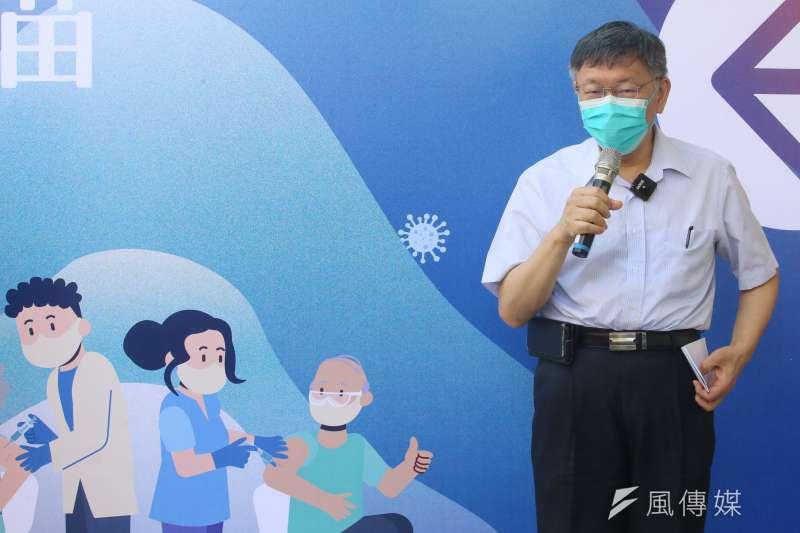 20210714-台北市長柯文哲。(柯承惠攝)
