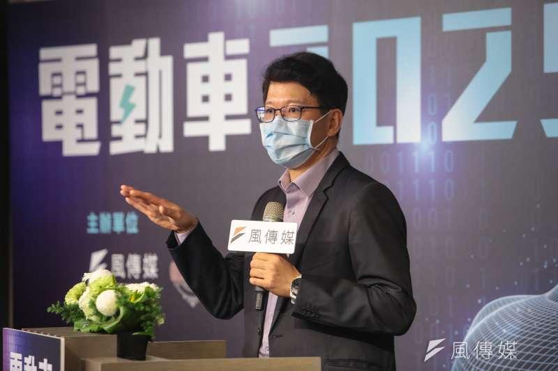 20210716-台達電電動車事業群總經理唐修平16日出席風傳媒舉辦「電動車2025」線上論壇。(顏麟宇攝)