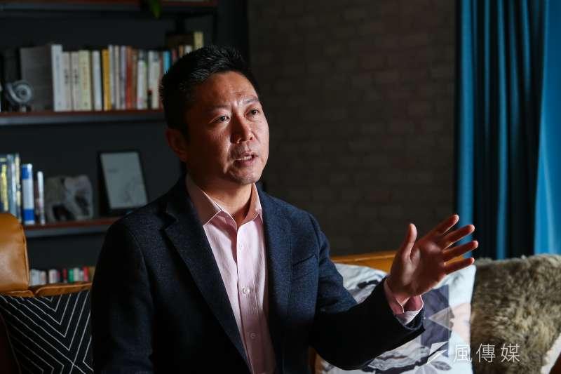 20210409-Omplexity系統變革顧問公司執行長薛喬仁專訪。(顏麟宇攝)