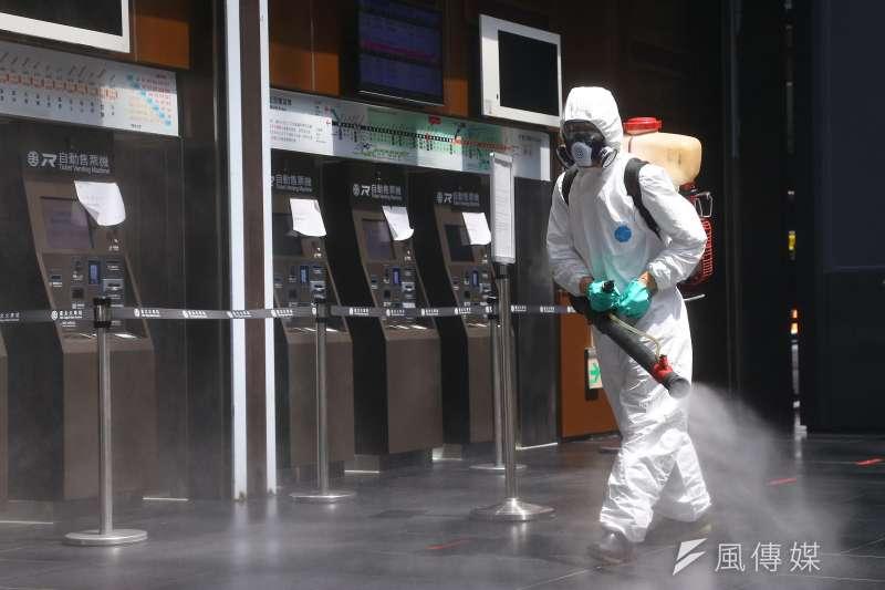 案16254足跡跨台北、新北、彰化、台南及高雄等5縣市,台北市衛生局已發送852封細胞簡訊提醒民眾注意。示意圖。(資料照,顏麟宇攝)