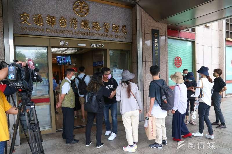20210731-台鐵太魯閣列車事故家屬31日出席「第二次家屬懇談會」。(顏麟宇攝)
