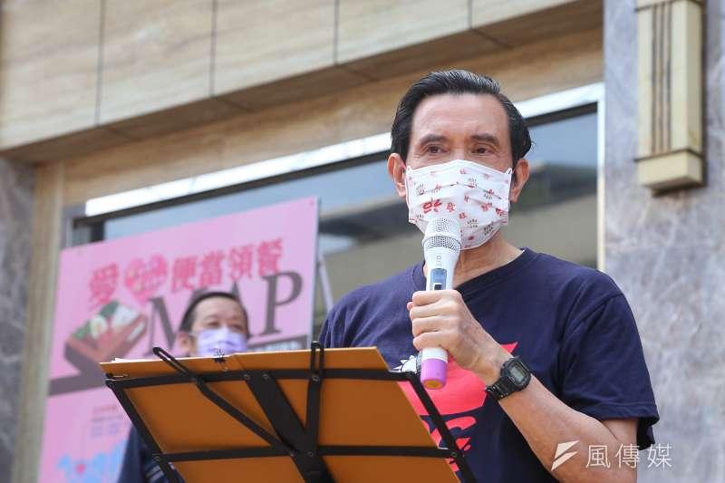 針對前國手紀政擬推2024巴黎奧運正名公投,前總統馬英九31日表示,這沒有意義,只會害了台灣、沒有好處。(顏麟宇攝)